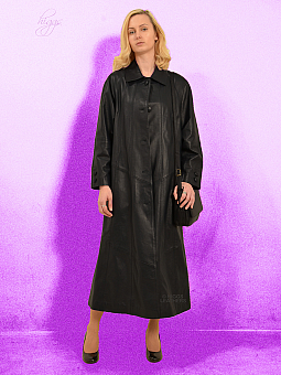 Higgs Leathers LAST FEW!  Rosemary (ladies swingback Black Leather coats)